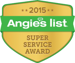 Angie's List Super Service Award - 2015